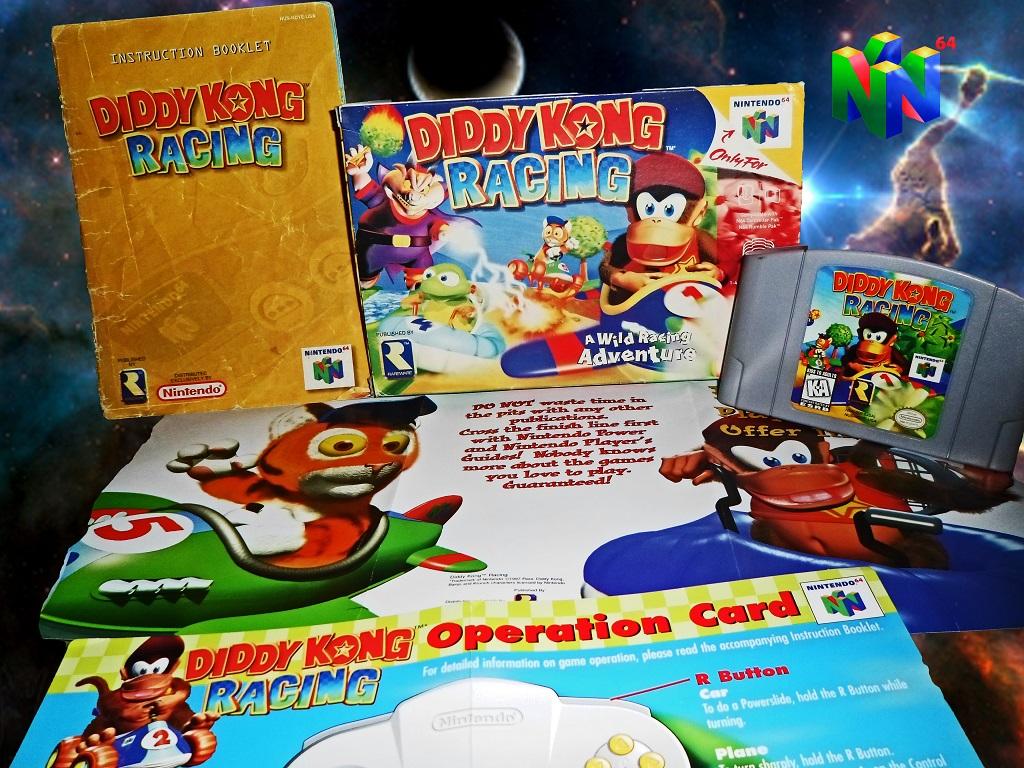 Diddy Kong Racing Display