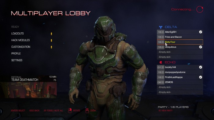 Doom marine 64