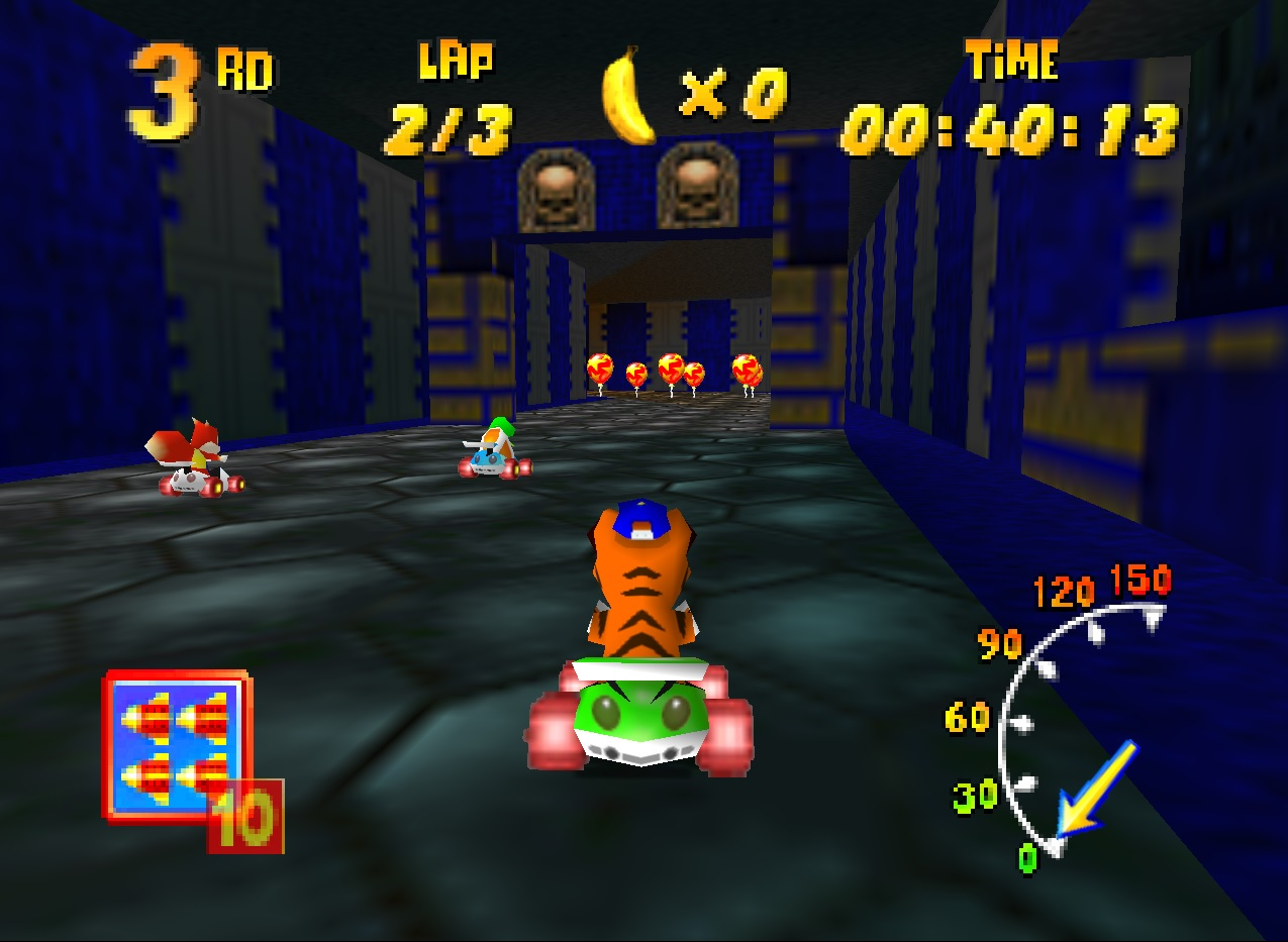 Diddy Kong Racing Custom Track - Doom Base